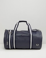 Fred Perry Scotch Grain Barrel Bag in Navy