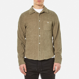 Garbstore Men's Club Towelling Shirt Khaki