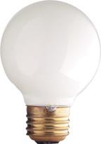Rejuvenation 25W White Globe Bulb