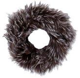 Adrienne Landau Fox Fur Infinity Scarf