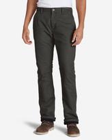 Eddie Bauer Men's Lined Canvas Mountain Pants