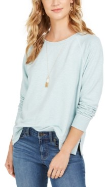 Style&Co. Style & Co Contrast-Stitched Sweatshirt, Created for Macy's