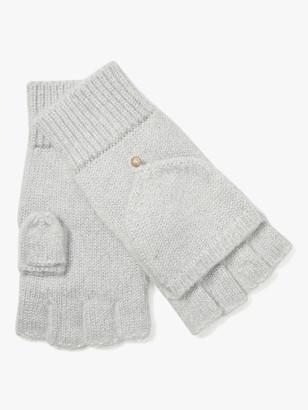 Kate Spade Velvet Bow Pop-Top Gloves