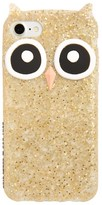 Kate Spade Owl Iphone 7 Case - Metallic
