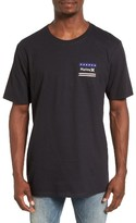 Hurley Men's Freedom Fly Logo Graphic T-Shirt