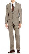 Hart Schaffner Marx New York Modern-Fit Plaid Suit