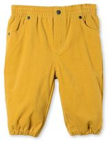 Stella McCartney mustard pipkin trousers