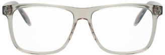 Alexander McQueen Beige Skull 56 Glasses
