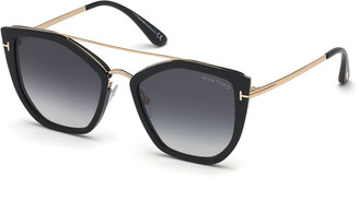 Tom Ford Dahlia Butterfly Metal & Acetate Sunglasses