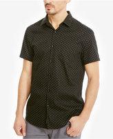 Kenneth Cole Reaction Men's Mini Triangle-Print Cotton Shirt