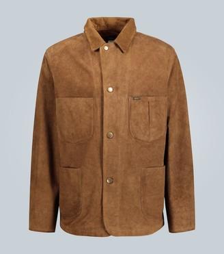 Ralph Lauren RRL Distressed suede jacket