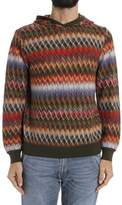 Missoni Men's Multicolor Cotton Sweatshirt.