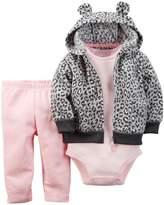 Carter's Baby Girls' 3 Piece Cardigan Set