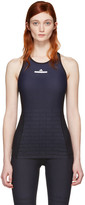 adidas by Stella McCartney Navy Train Shape Tank Top