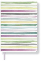 Fringe Green Water Stripe Journal