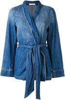Equipment denim trouser suit - women - Cotton - XS