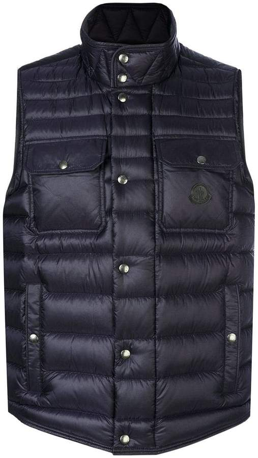 Moncler Ever quilted effect vest