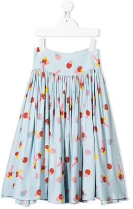 Stella McCartney Shape Print Skirt