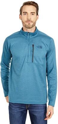 The North Face Canyonlands 1/2 Zip (Mallard Blue Heather) Men's Long Sleeve Pullover