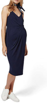 Topshop Knot Front Strappy Dress (Maternity)