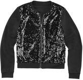 Total Girl Sequin Bomber Jacket - Girls 7-20