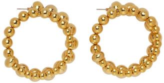 Simon Miller Gold Ram Hoop Earrings