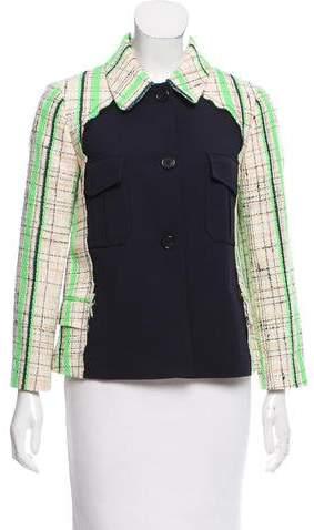 Maison Margiela Contrasted Bouclé Jacket w/ Tags