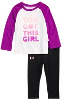 Under Armour Infant Girl's You Got This Girl Tee & Pants Set