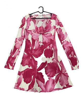 Celine Pink Viscose Dresses