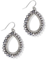 New York & Co. Beaded Open Teardrop Earring