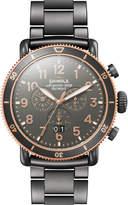 Shinola Men's 48mm Runwell Sport Chronograph Watch, Gray