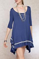 Easel Oversized Tunic Dress