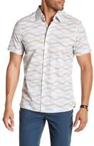 Perry Ellis Waves Short Sleeve Regular Fit Shirt