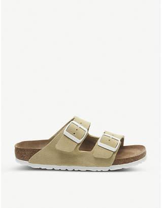 Birkenstock Arizona two-strap faux-leather sandals