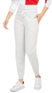 Tommy Hilfiger Embroidered-Logo Jogger Pants