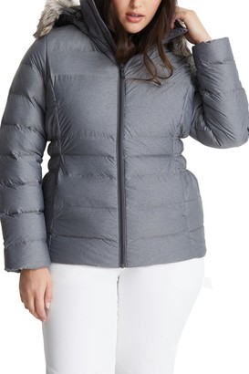 The North Face Gotham II Faux Fur Trim Jacket