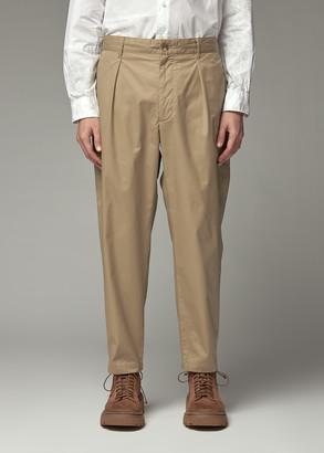 Engineered Garments Men's Carlyle Pant in Khaki Size Medium 100% Cotton