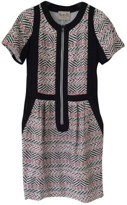 Sea New York Black Cotton Dresses