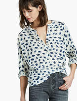 Lucky Brand Elephant Popover Top