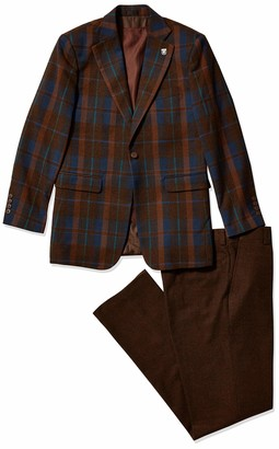 Stacy Adams Men's 3 Pc. Modern Fit Suit