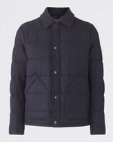 British Waxed Lambswool Padded Jacket