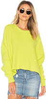 Free People Festival Pier Pullover in Yellow. - size M (also in S)