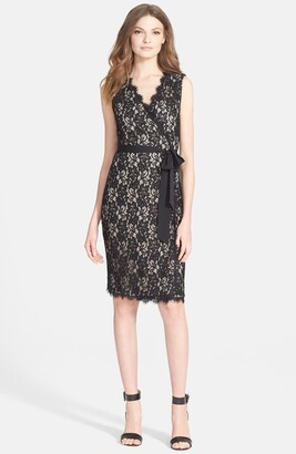 Diane von Furstenberg 'Julianna Two' Lace Wrap Dress