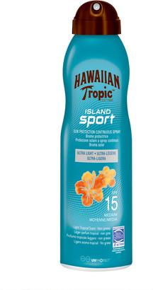Hawaiian Tropic Island Sport Sun Protection Continuous Spray Spf15 220Ml