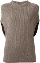 Rick Owens 'Crater' knit top - women - Polyamide/Cashmere/Wool - M