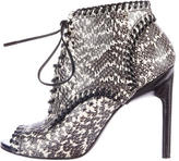 Jason Wu Evelyn Snakeskin Ankle Boots