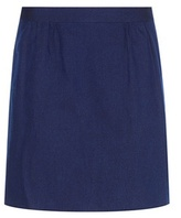 A.P.C. Spy Cotton And Linen Miniskirt