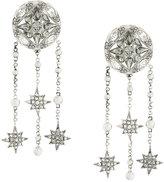 Roberto Cavalli drop chain earrings