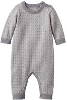 Cuddl Duds Baby Cable-Knit Coverall