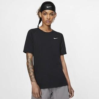 Nike Women's Short-Sleeve Top Breathe Tailwind